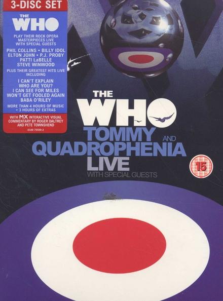 Tommy live ; Quadrophenia live ; Live hits