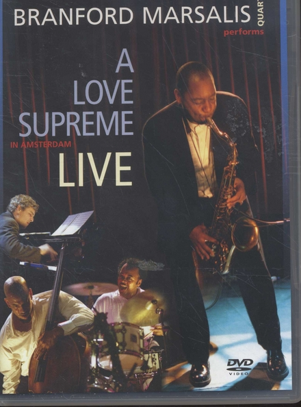 Coltrane's a love supreme live in Amsterdam