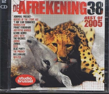 De afrekening van Studio Brussel. 38, Best of 2005