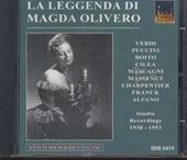 La leggenda di Magda Olivero : Studio recordings 1938 - 1953