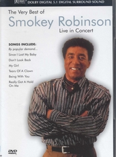 The very best of Smokey Robinson : Live in concert