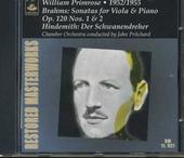 Sonatas for viola piano op. 120 nos. 1 & 2