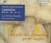 Cantatas for the complete liturgical year. Vol. 1, Ich will den Kreuzstab gerne tragen