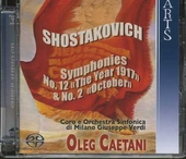 "Symphonies No. 12 ""The year 1917"" & No. 2 ""October"""