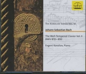The well-tempered clavier vol.II, BWV.870-893. vol.6