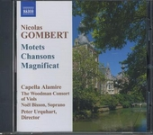 Motets, chansons and a magnificat