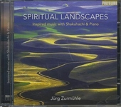 Spiritual landscapes : Inspired music with shakuhachi & piano