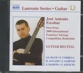 Guitar recital : First prize 2000 International Francisco Tárrega Competition