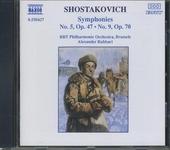 Symphonies nos.5 and 9