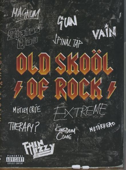 Old skoöl of rock