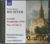 Six grandes symphonies (1744)