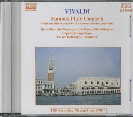 Famous flute concerti
