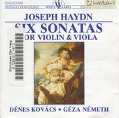 Six sonatas for violin and viola