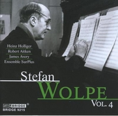 Stefan Wolpe vol.4. vol.4