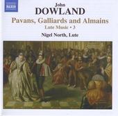 Pavans, galliards and almains : lute music. Vol. 3