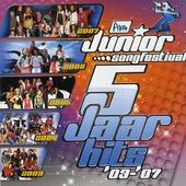 Junior songfestival : 5 jaar hits 2003-2007