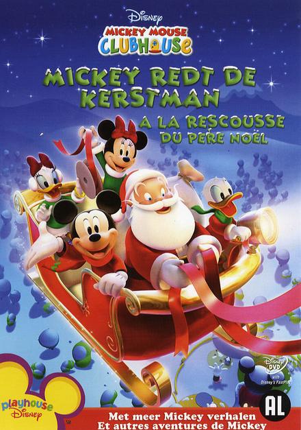 Mickey redt de kerstman