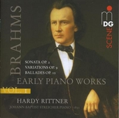 Early piano works. Vol. 1