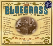 Authentic rare bluegrass : independent label sides 1951-1954