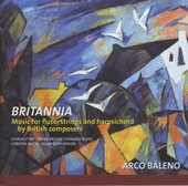 Britannia : chamber music for flute, strings and harpsichord by British composers