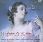 Le grazie veneziane : musica degli ospedali