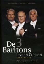 De 3 baritons : Live in concert