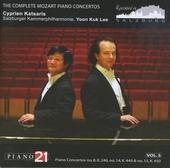 The complete Mozart piano concertos. Vol.5