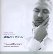Mirages : mélodies