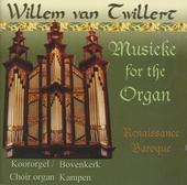 Musicke for the organ : Renaissance baroque