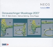 Donaueschinger Musiktage 2007 Vol.3. vol.3