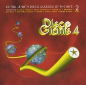 Disco giants : 20 full length disco classics of the 80's. vol.4