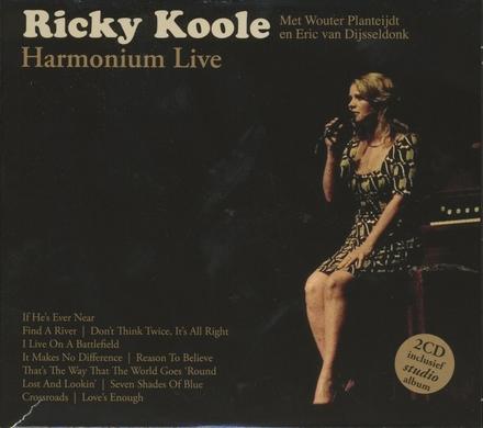 Harmonium live ; Ricky Koole
