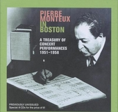 Pierre Monteux in Boston : A treasury of concert performances 1951-1958