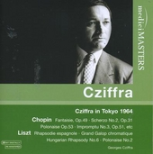 Cziffra in Tokyo 1964 : Chopin & Liszt recital