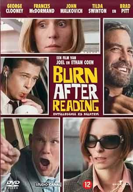 Burn after reading / written and dir. by Joel Coen and Ethan Coen