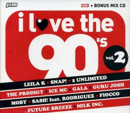I love the 90's. Vol. 2