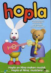 Hopla en Nina maken muziek