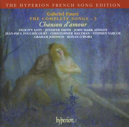The complete songs : chanson d'amour. Vol. 3