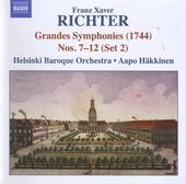 Six grandes symphonies (1744) nos.7-12 (set 2)