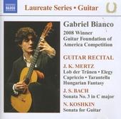 Guitar recital : 2008 winner Guitar Foundation of America competition