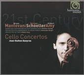 21th century cello concertos