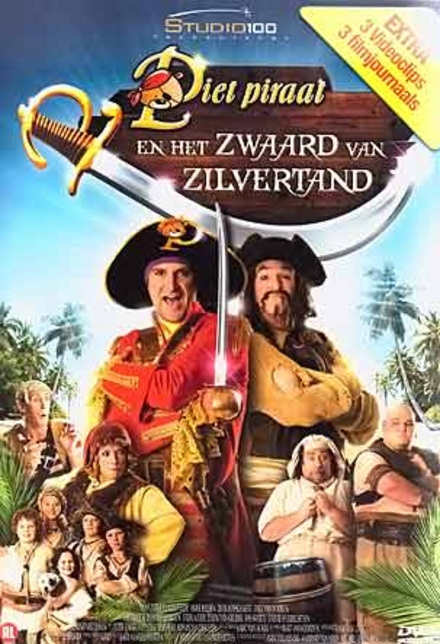 Piet Piraat en het zwaard van Zilvertand