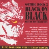 Gothic rock : black on black : best of 80's collection. 3