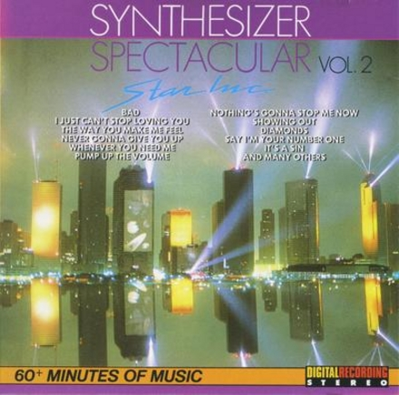 Synthesizer : Spectacular. vol.2