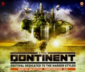 The qontinent : Festival dedicated to the harder styles - 2009 compilation