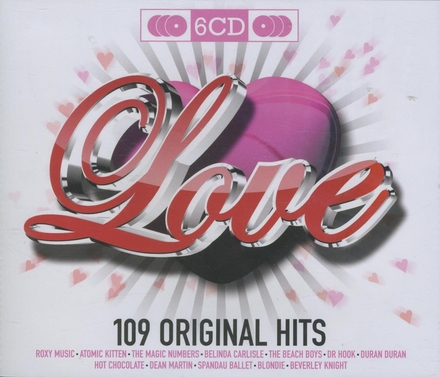 109 original hits : Love