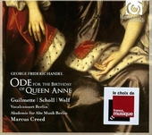 Ode for the birthday of Queen Anne