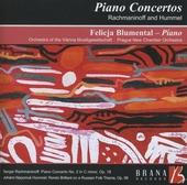 Piano concertos by Rachmaninoff and Hummel