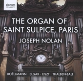 The organ of Saint Sulpice Paris