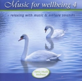 Music for wellbeing. Vol. 4, relaxing with music & nature sounds